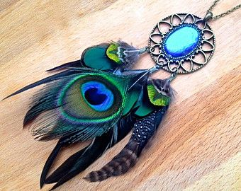 Are Dream Catchers Real Real Butterfly Wing Dream Catcher Necklace Peacock Feather 22