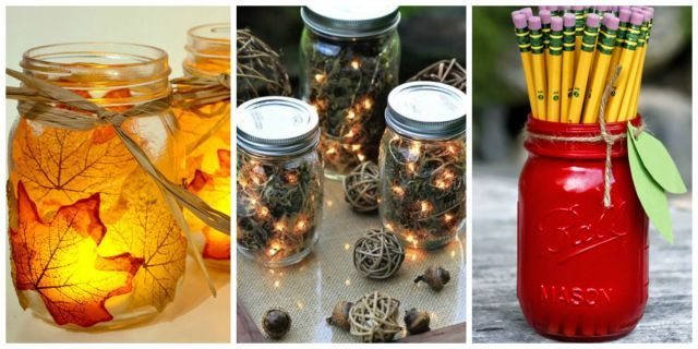 25 Mason Jar Crafts That Will Get You So Excited For Fall Living