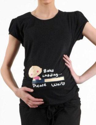 Bebek Resimli Hamile T Shirt Kadin Tisort Bebek Tisort Modelleri