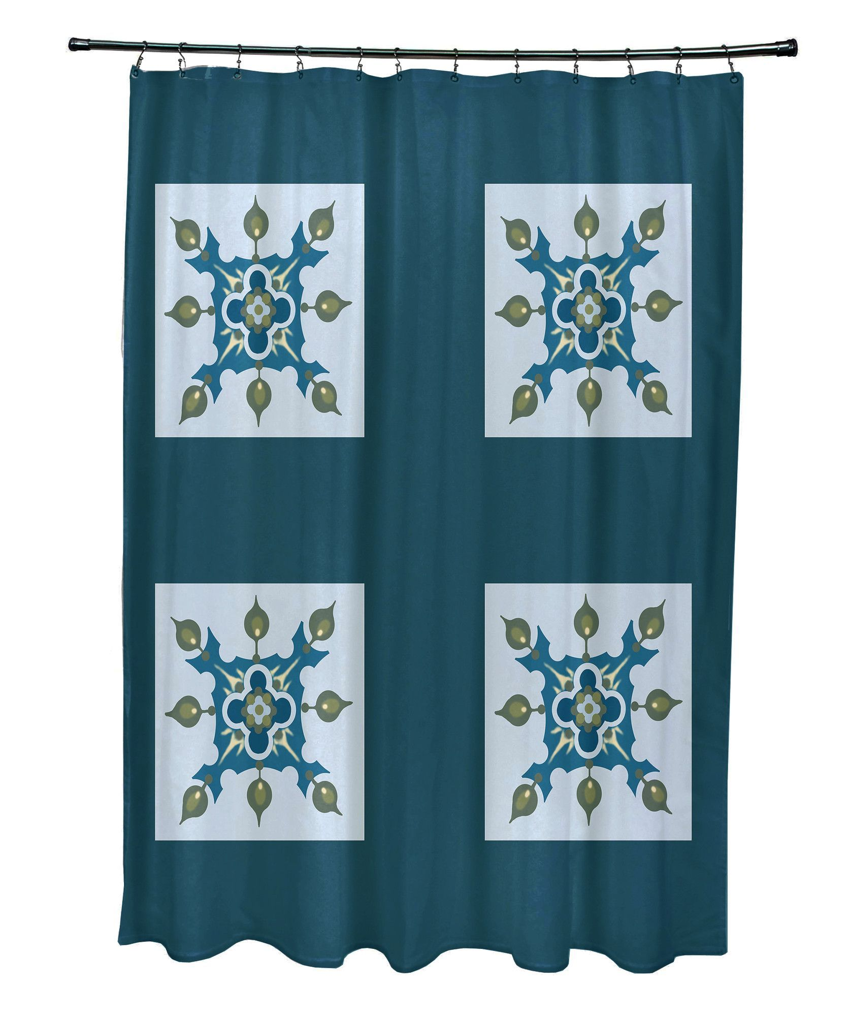 Anita Geometric Shower Curtain | Bath products and Products