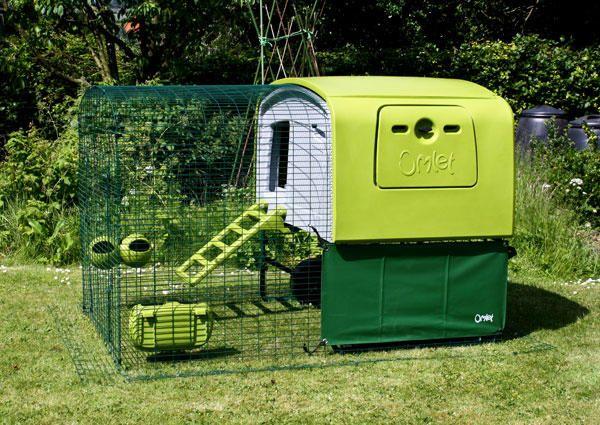 Designer Hühnerstall heavy duty cover for eglu cube wind hühner