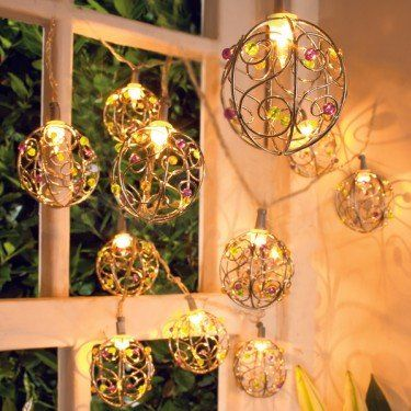 Indoor Home decor with fairy light  | Bedroom Decoration decorative string lights for bedroom Picture via