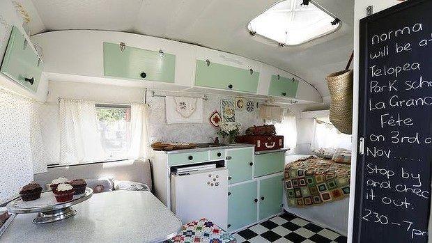 Vintage caravan interior   Caravans   Pinterest   Restaurierung ...