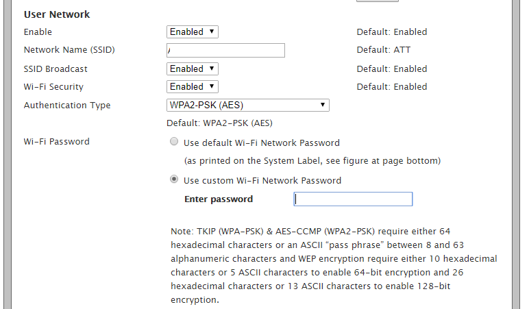 How To Change An At T U Verse Wifi Password The Silicon Underground Wifi Password Wifi Passwords