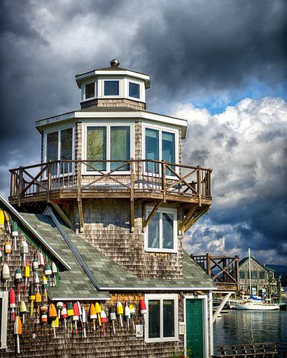"""Check out my art piece """"Acadia Maine lobster dock"""" on crated.com"""