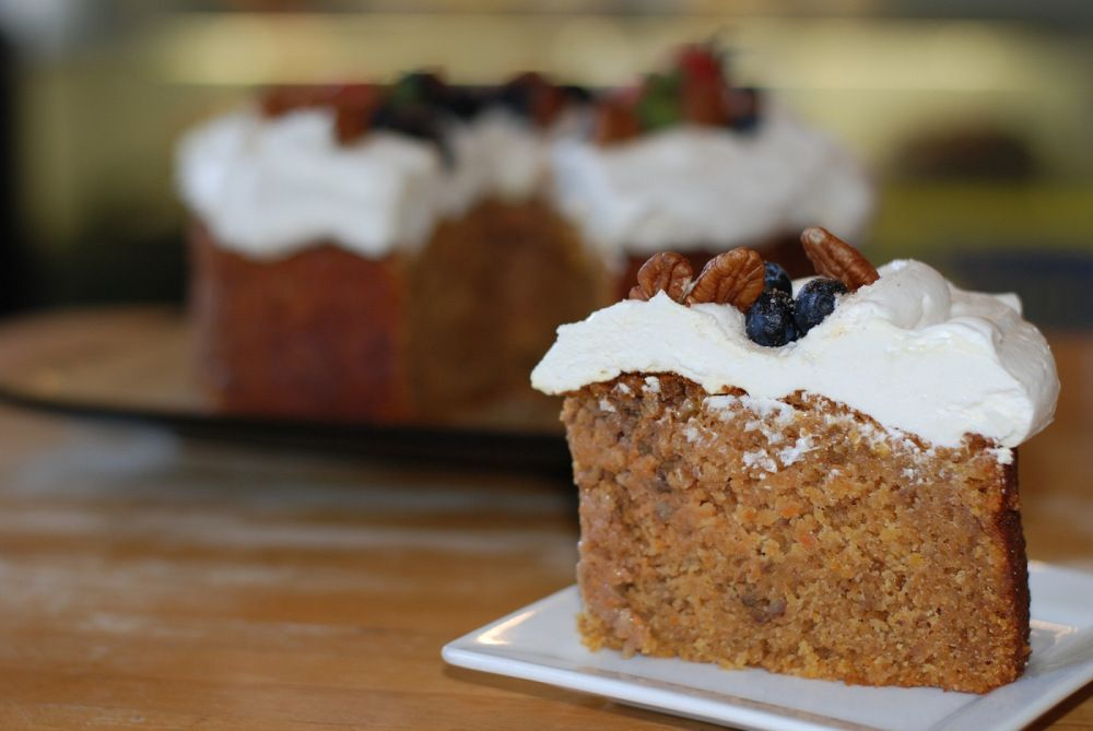 Now we're talking! /// Gluten free, dairy free carrot cake recipe from the Little Aussie Bakery and Cafe.