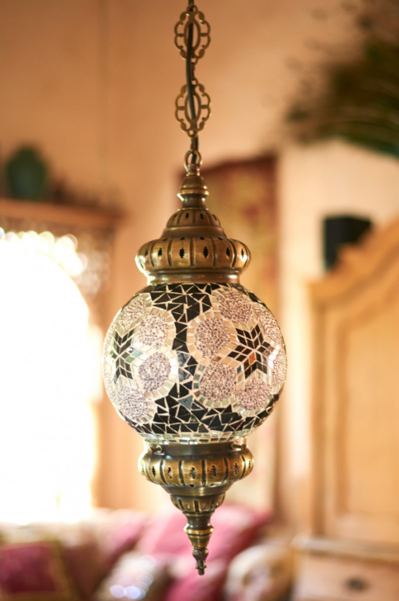 Star mosaic turkish hanging lamp discoverturkey lamp homedecor ebhome earthboundtrading