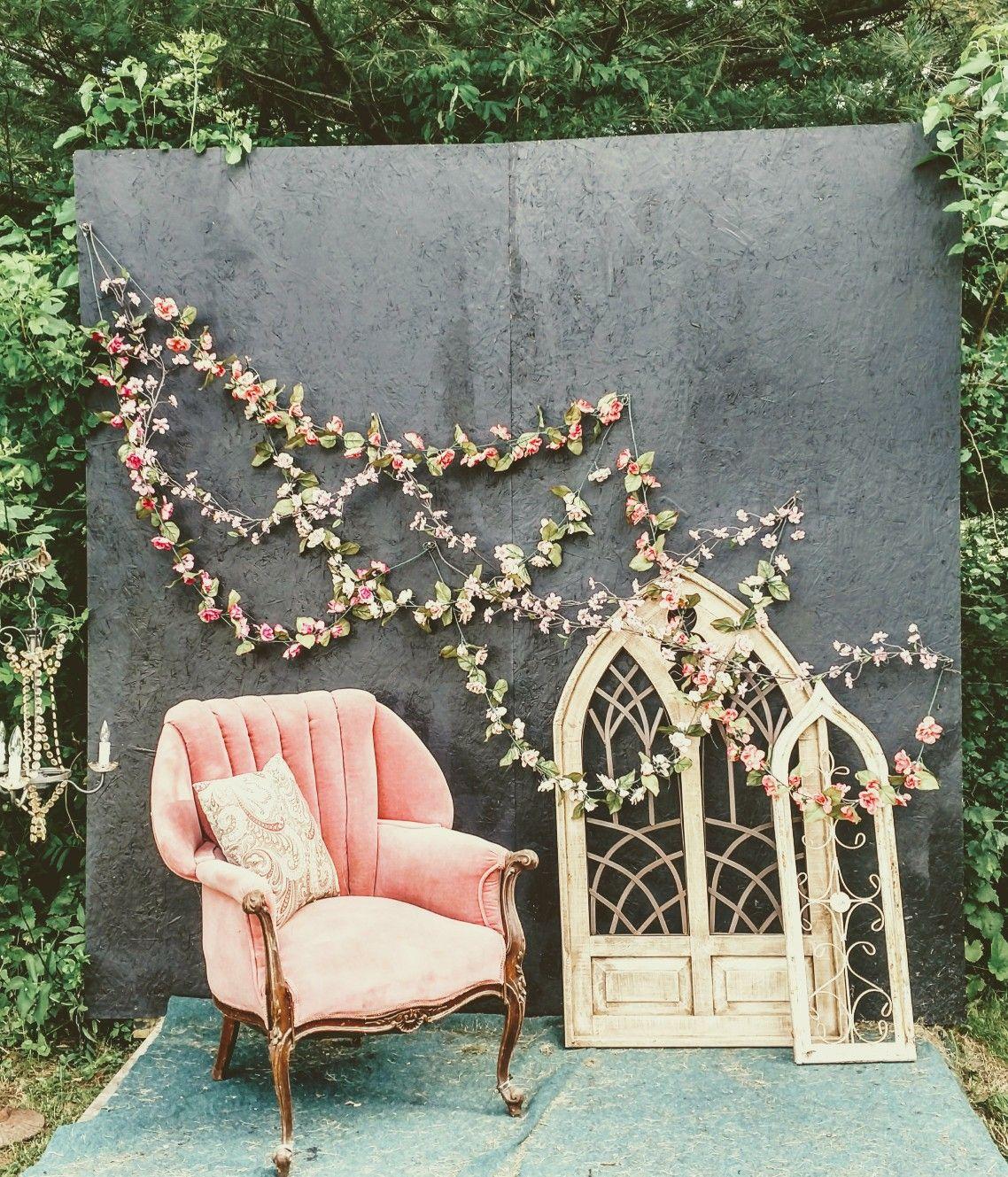 vintage wedding photo backdrop | Storybook gardens, Photo ...