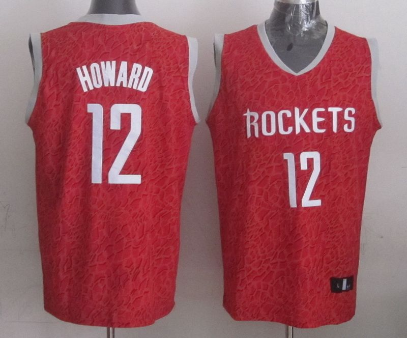 Howard Rockets Crazy Light Swingman  12 Jersey red  e866f9a80