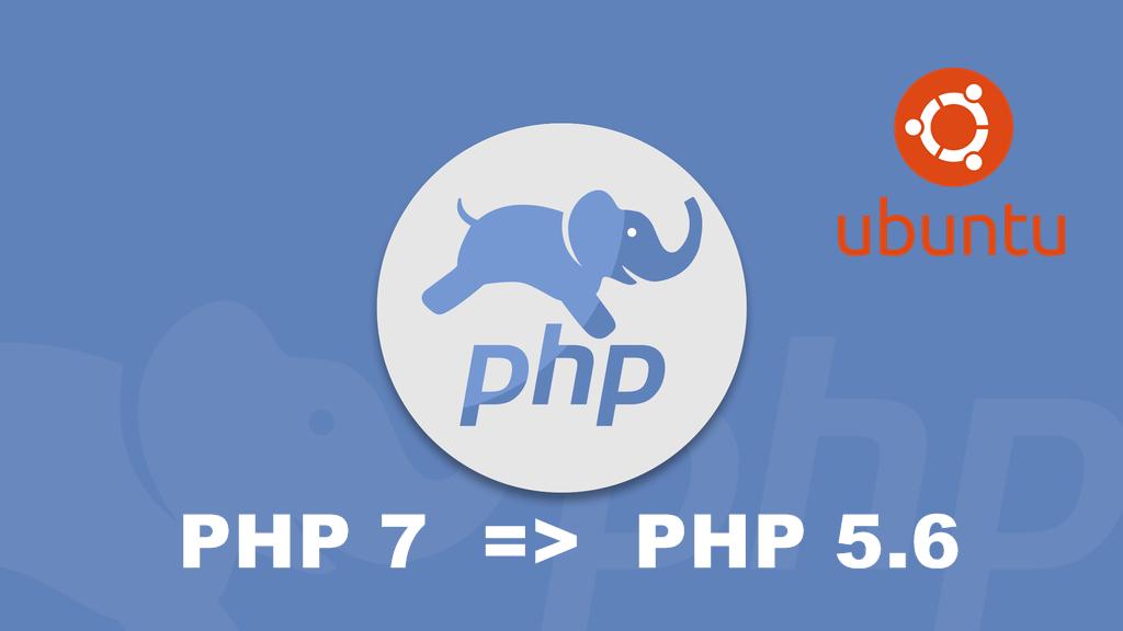 Come+cambiare+versione+di+PHP+da+7.0+a+5.6+e+viceversa