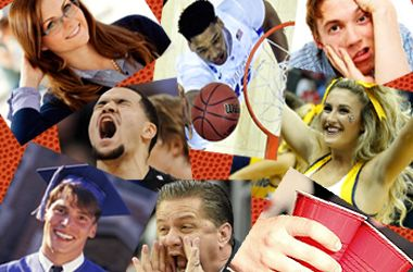 Four college flashbacks brought on by your March Madness bracket - 03-24-2015