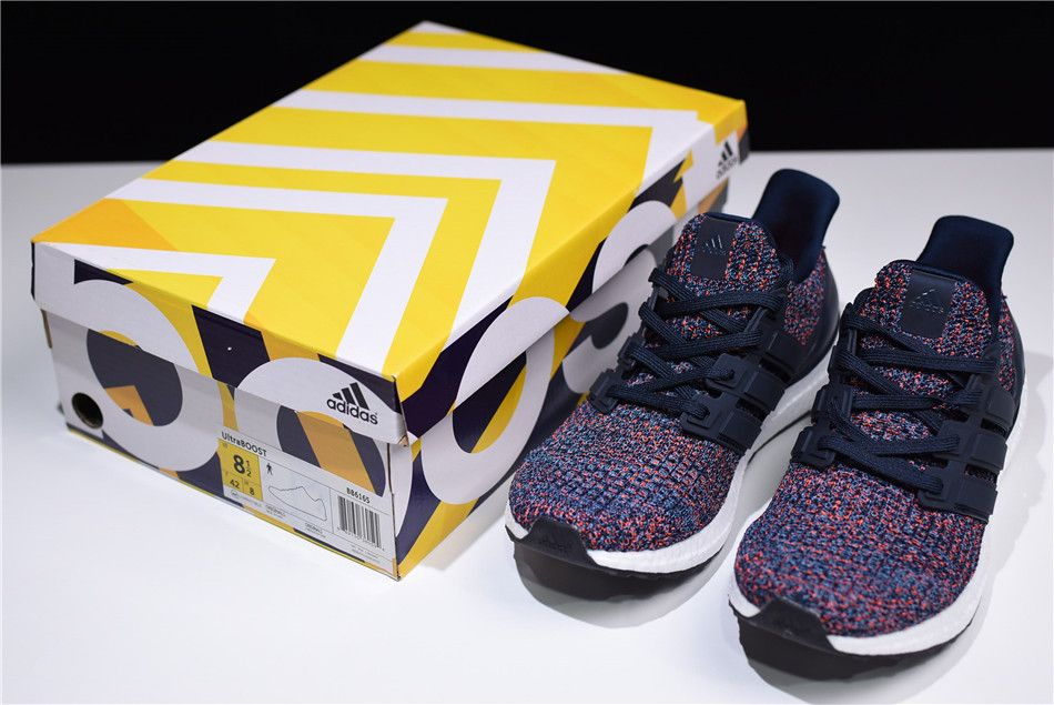 "274a1a3332dc8 2018 adidas Ultra Boost 4.0 ""Navy Multicolor"" Navy Navy-Blue BB6165"