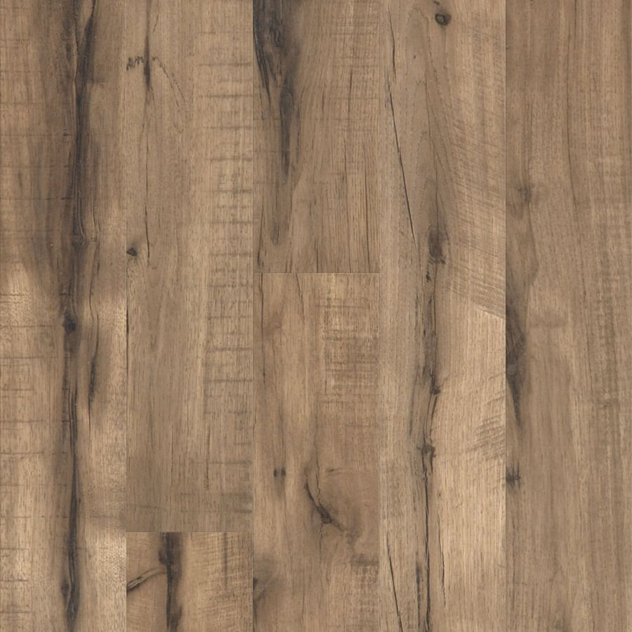 Shop Style Selections 5 1 2 In W X 47 3 4 In L Pecan Laminate Flooring At Lowes Com Flooring Oak Laminate Flooring Laminate Flooring