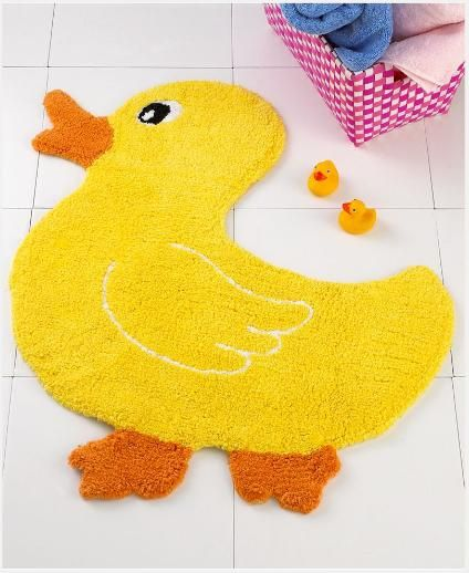 Duck Bath Rug With Images Rubber