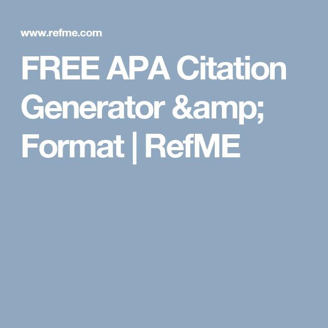 apa generator free