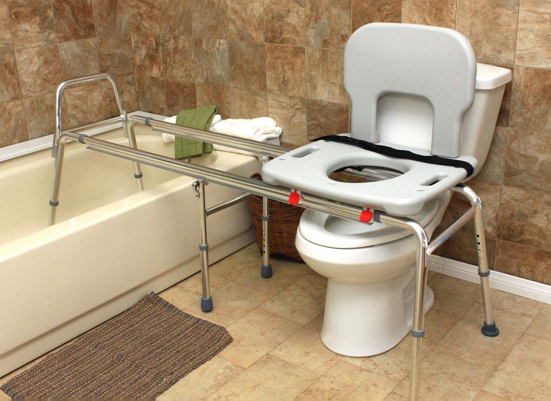77963 Toilet To Tub Sliding Transfer Bench Long In 2019