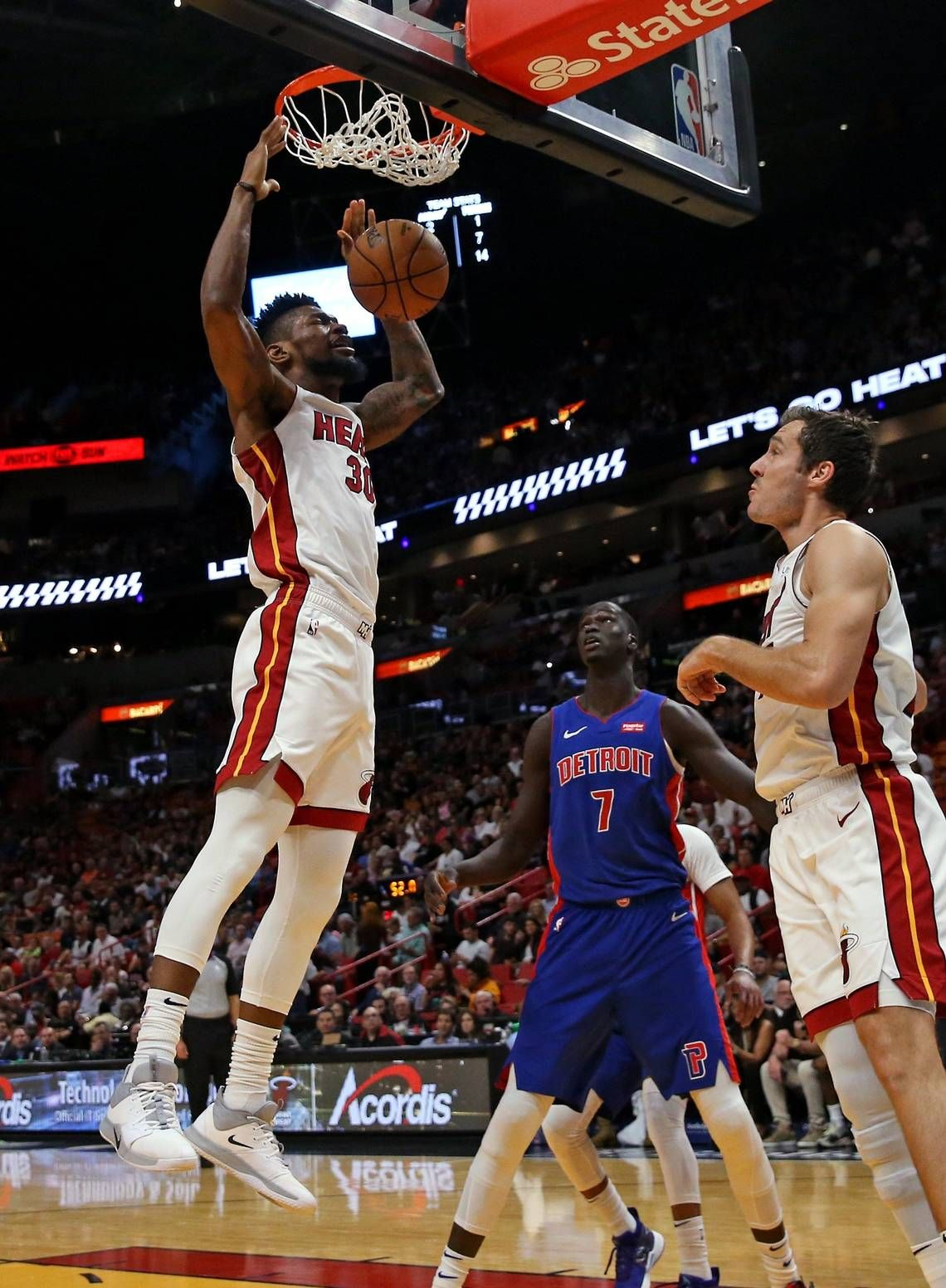 Chris Silva Practices With Heat For First Time In Regular In 2020 Nba Basketball Teams Sports Photos Most Popular Sports