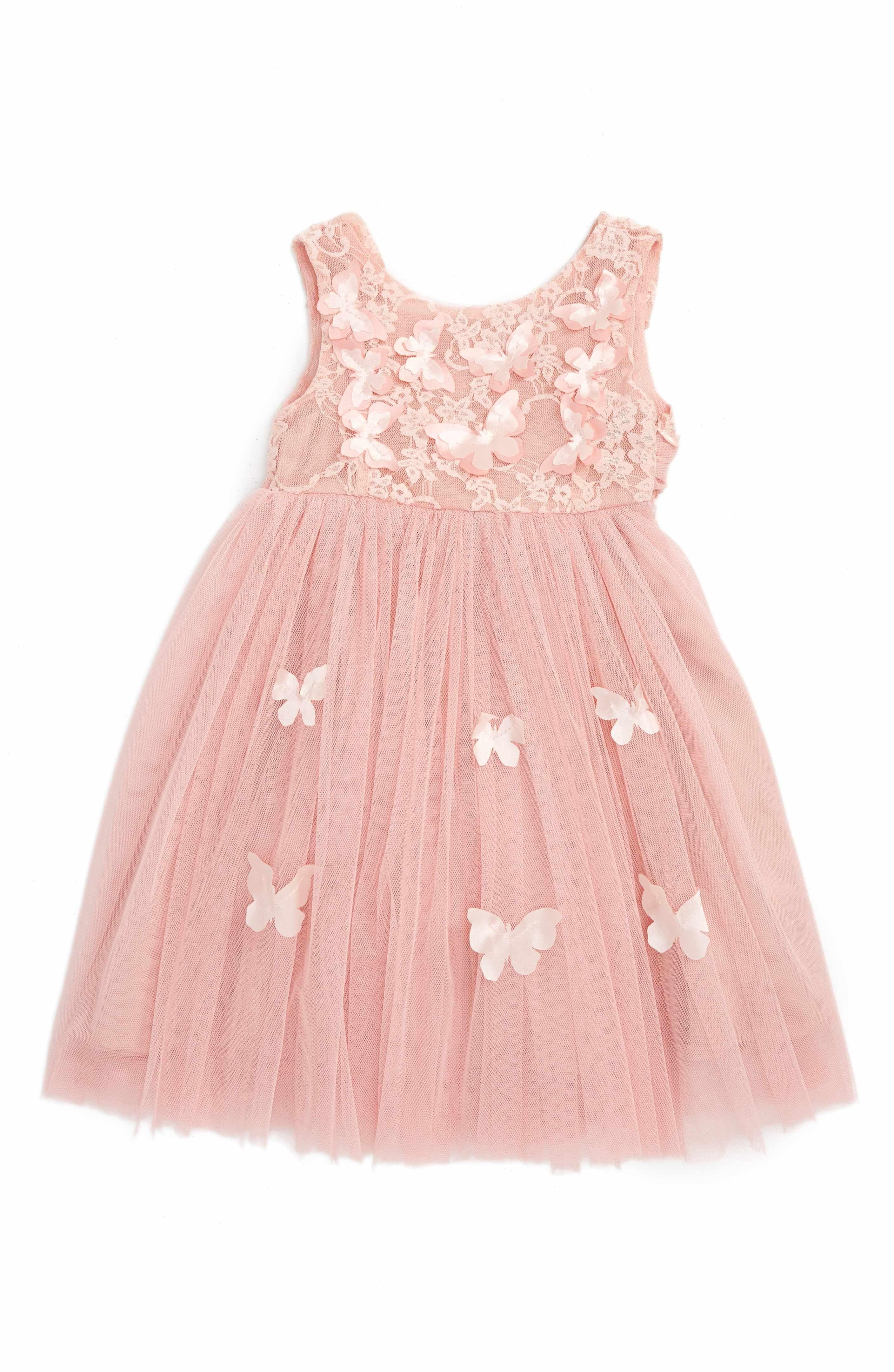 Main Image Popatu Butterfly Sleeveless Dress Baby Girls