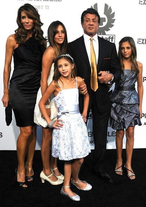 ⭐Jennifer Flavin & Sylvester Stallone & Family ...