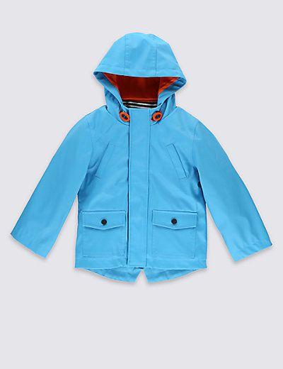 Fisherman Hooded Jacket (1-7 Years)