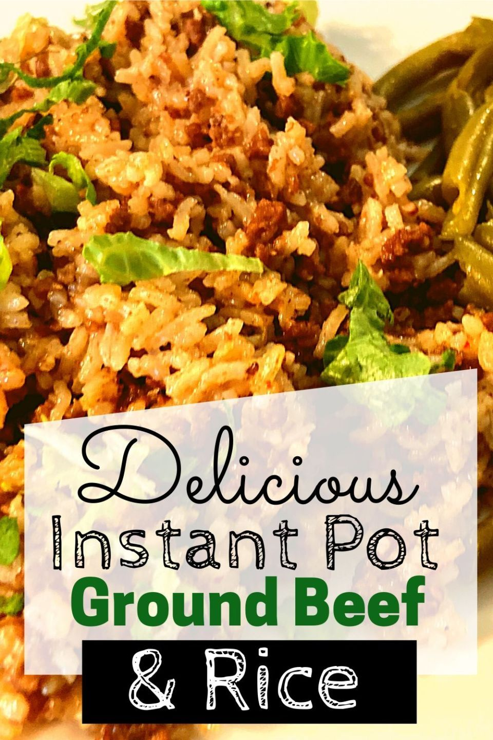 Instant Pot Ground Beef And Rice The Peculiar Green Rose Recipe In 2020 Ground Beef Recipes Healthy Ground Beef Recipes Easy Easy Instant Pot Recipes