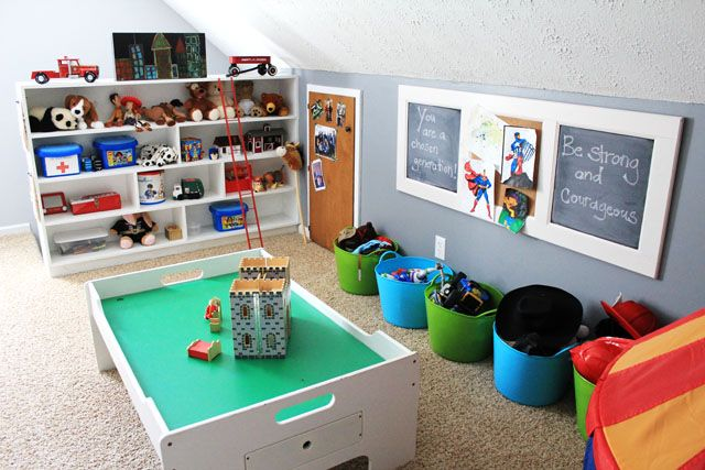 Boy's Play Area