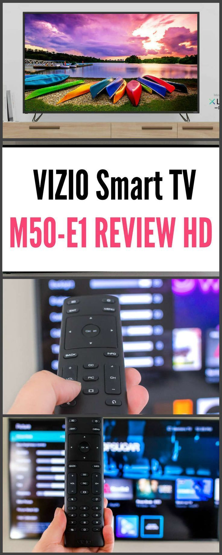 VIZIO Smart TV VIZIO M50E1 Review 4K HD We are want to