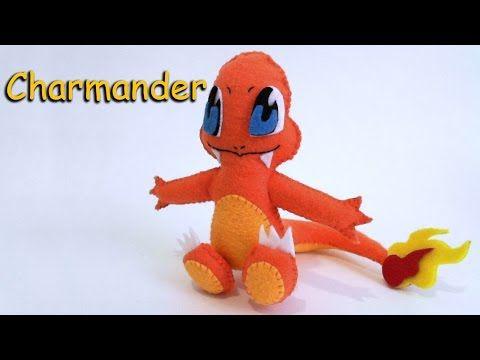 B4A Studios: How to Make a Charmander Pokemon plushie tutorial ...