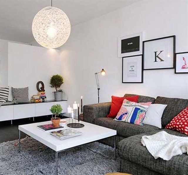 D co salon d co appartement moderne 30 id es pour for Idee deco appartement moderne
