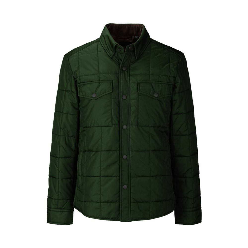 uniqlo padded shirt jacket in green my style uniqlo. Black Bedroom Furniture Sets. Home Design Ideas