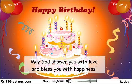 Happy Birthday Silvia God Bless You 3 Birthday Blessings