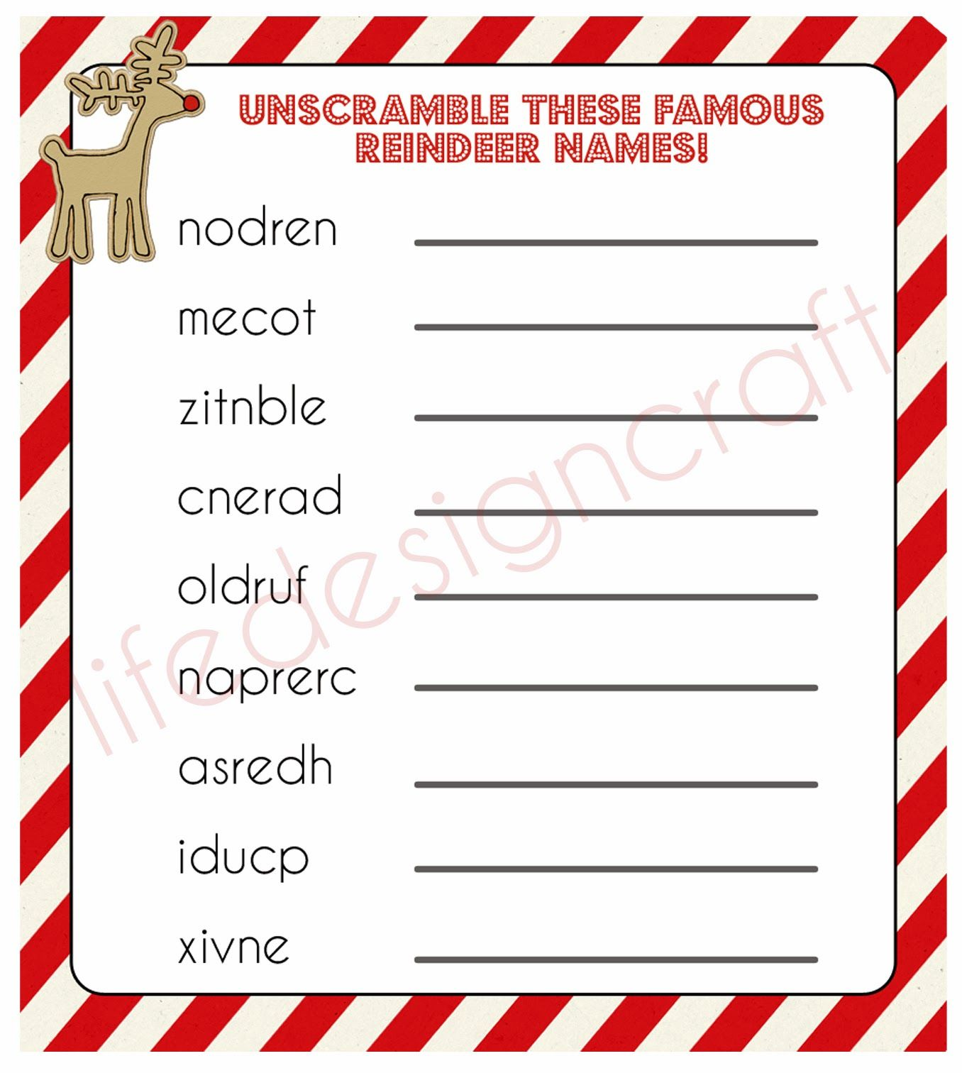 Sooo Fun The Christmas Eve Reindeer Games A Perfect