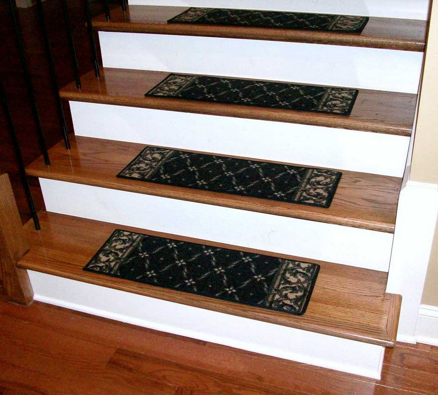 Exceptional Stair Tread And Riser Covers