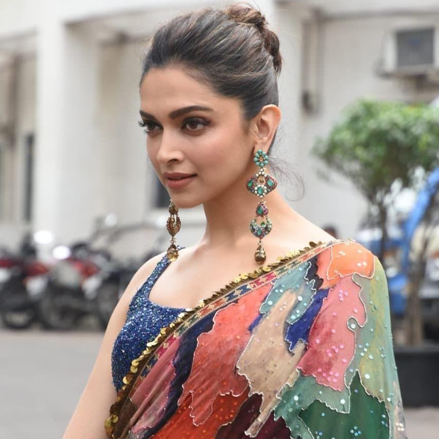 Deepika Padukone | Deepika padukone style, Tall girl fashion, Sabyasachi sarees