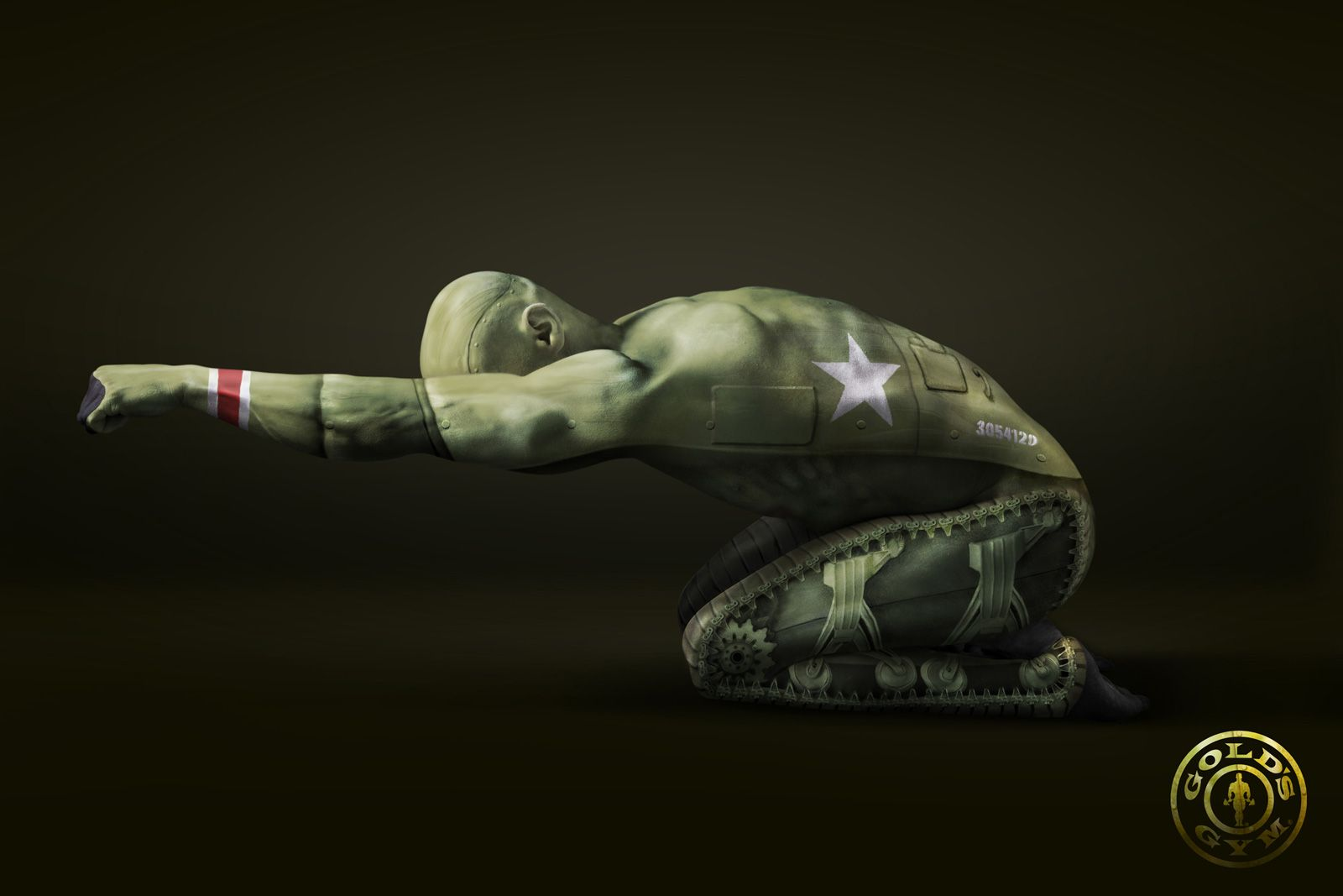 Gold's Gym: Tank, by jotabequ GREY, Advertising Agency
