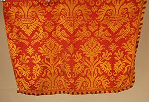 Silk Brocade Fragment, 18th-Early 19th C.<br /> Session 1 - Lot 119 - $50