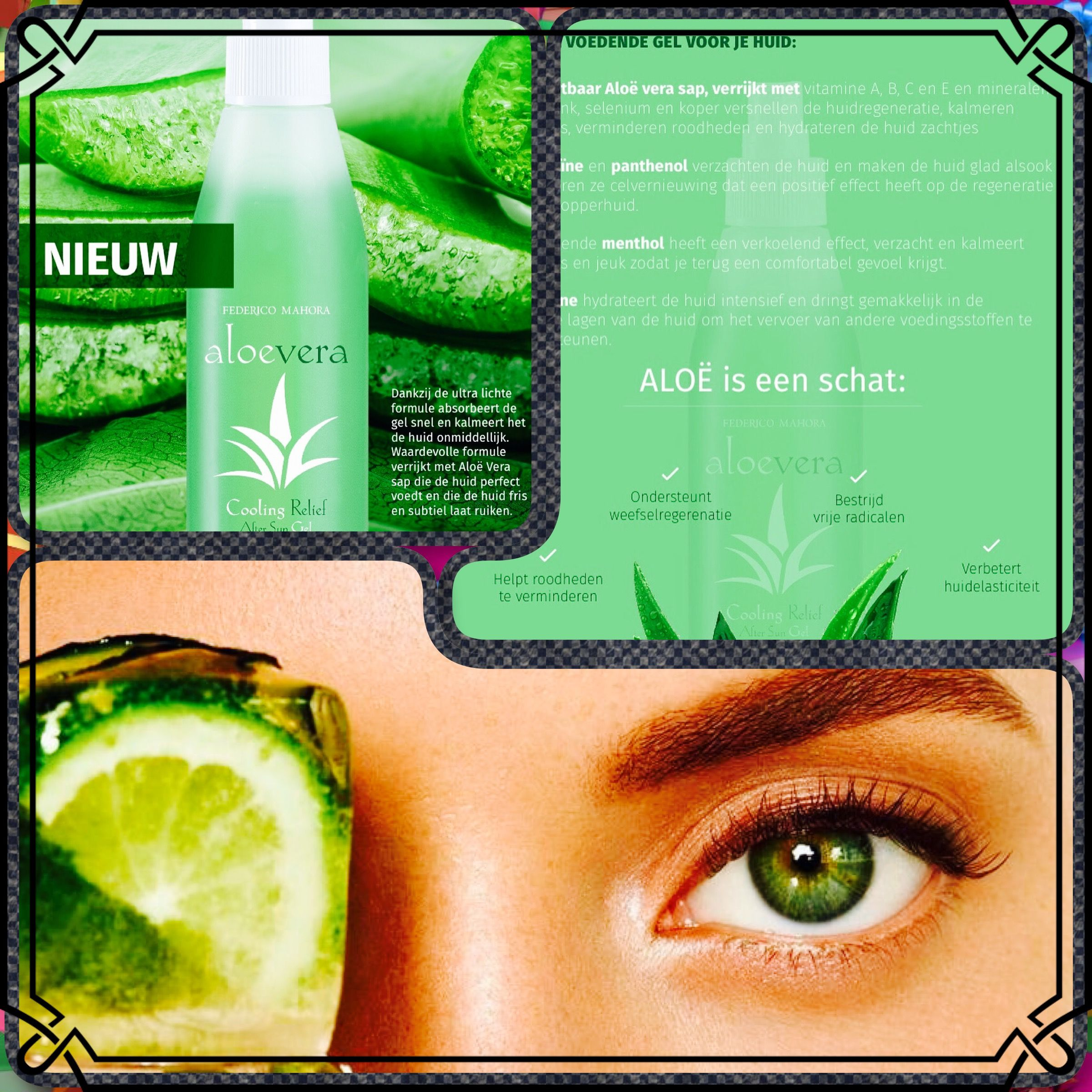 Aloevera Cooling Relief Gel Aftersun Cosmeticos Body Beauty Holiday Summer Hotonbeauty Gezichtsverzorging Huid Aloe