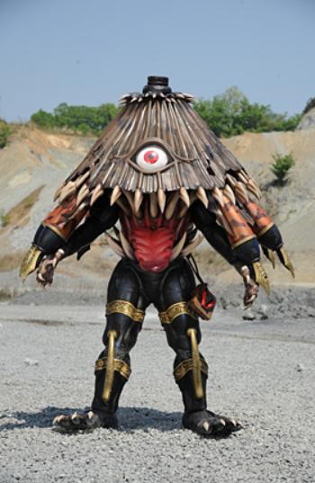 Weirdest Super Sentai Monsters #5: Youkai Kasabake Series of