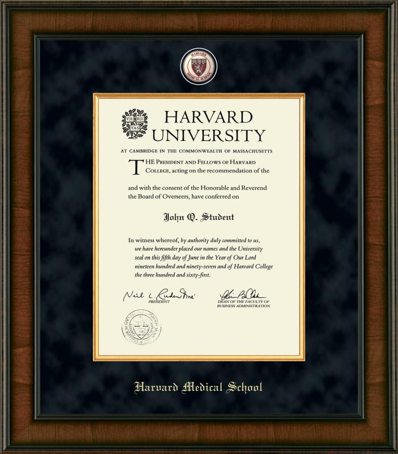 Harvard University Diploma Frame | diploma frames | Diploma frame ...