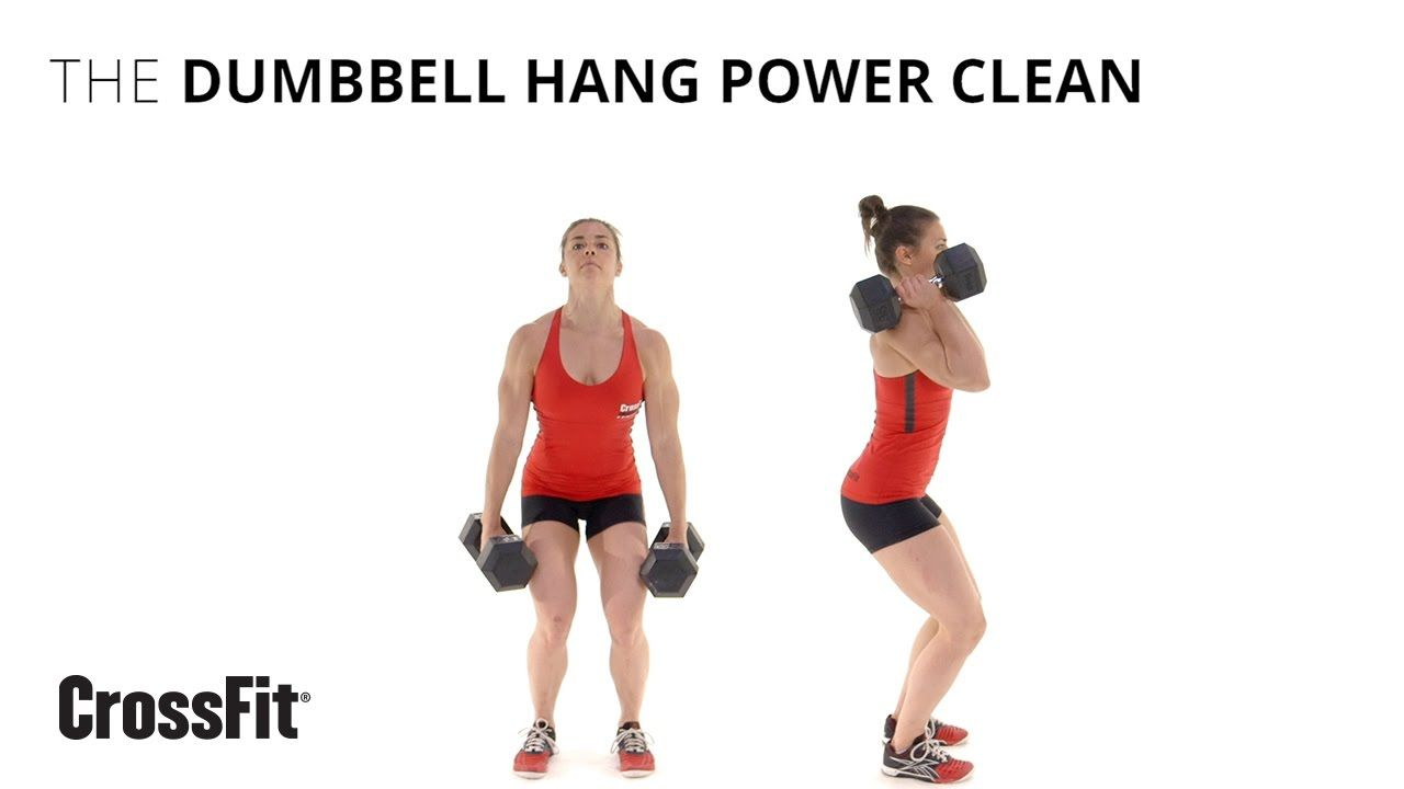 The Dumbbell Hang Power Clean Monday Workout Crossfit Workouts Crossfit Training Programs
