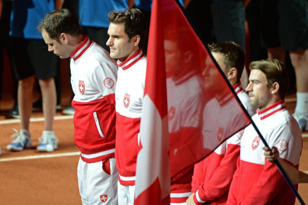 Coupe Davis : au coeur de la finale France-Suisse (avec images)   Coupe davis, Photos, France
