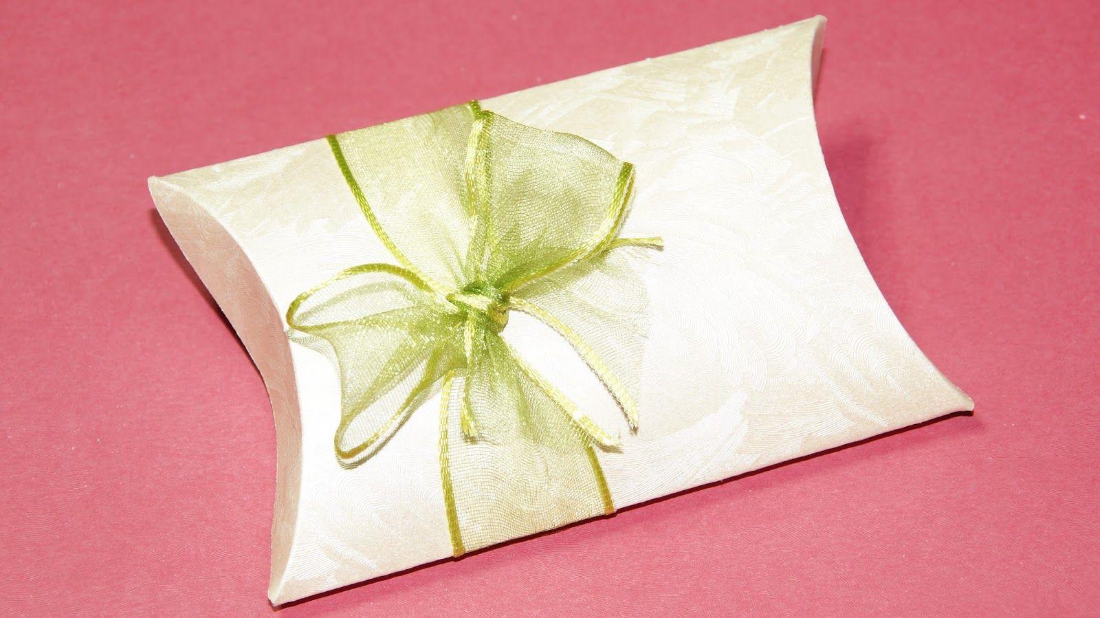 Pillow Box Basteln pillow box basteln geschenkbox basteln muttertagsgeschenke basteln