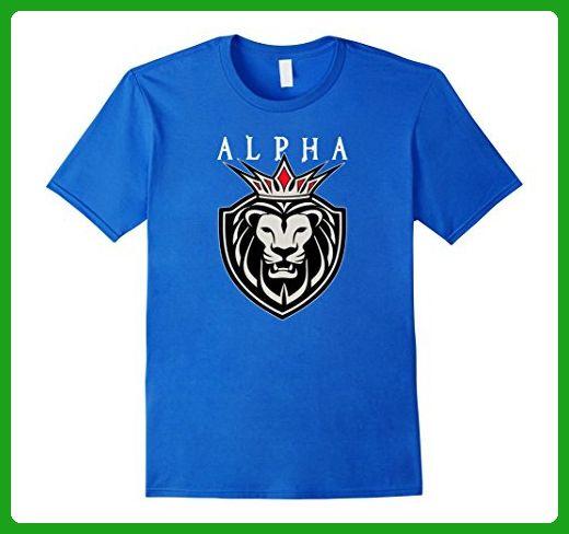 Mens ALPHA KING GYM MMA T-SHIRT 3XL Royal Blue - Workout shirts (*Amazon Partner-Link)