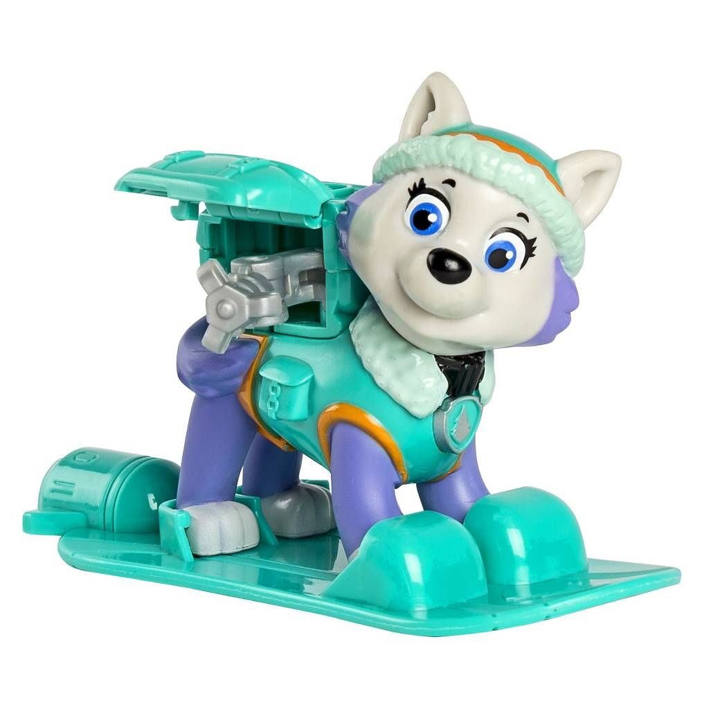 Paw Patrol Winter Rescues Action Pack Pup Snowboard Everest Image 3 Of 4 Paw Patrol Toys Everest Paw Patrol Paw Patrol