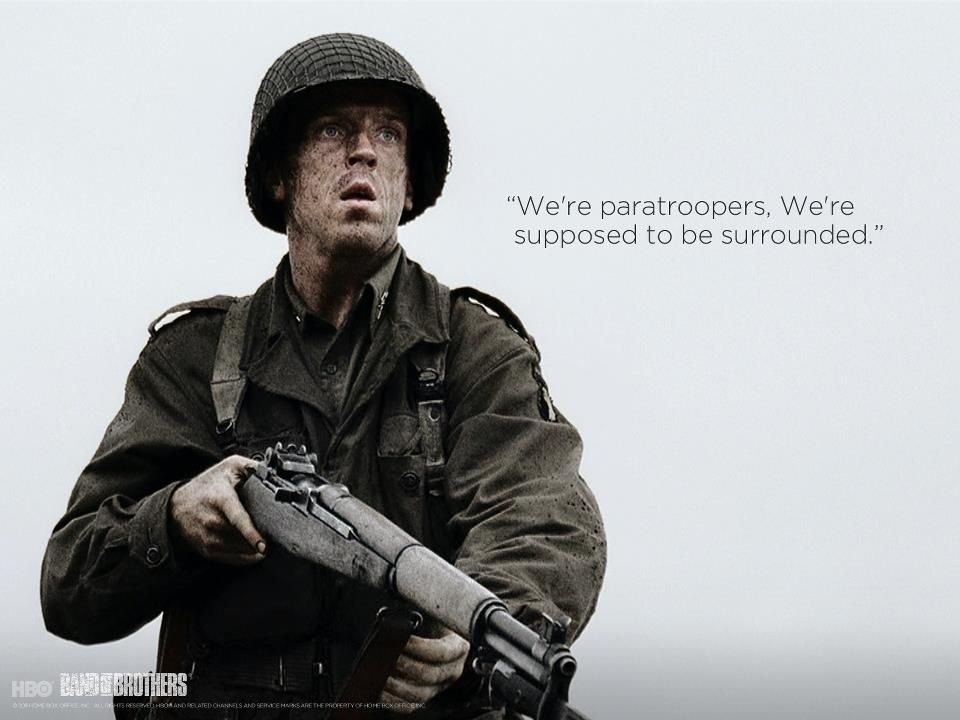 """""""We're Paratroopers, We're Supposed To Be Surrounded"""