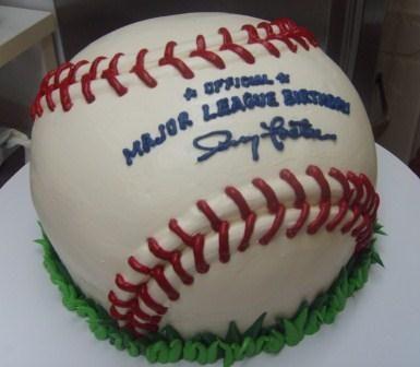 Baseball cake Cakes cupcakes and cake pops Pinterest Cake