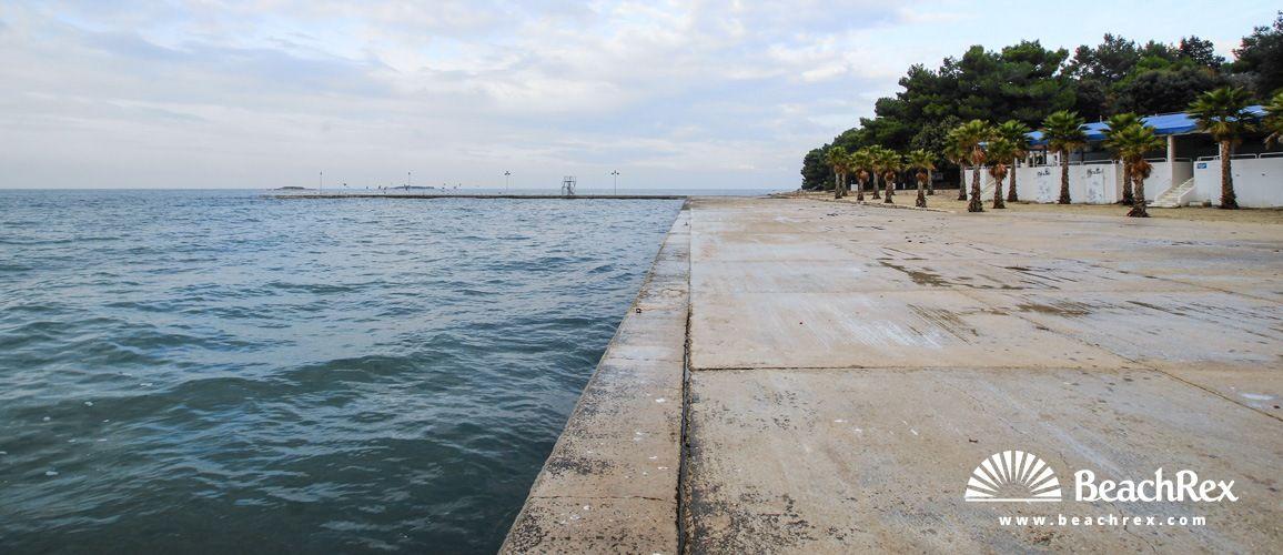 Beach Zelena Laguna Poreč Istra Croatia Beach