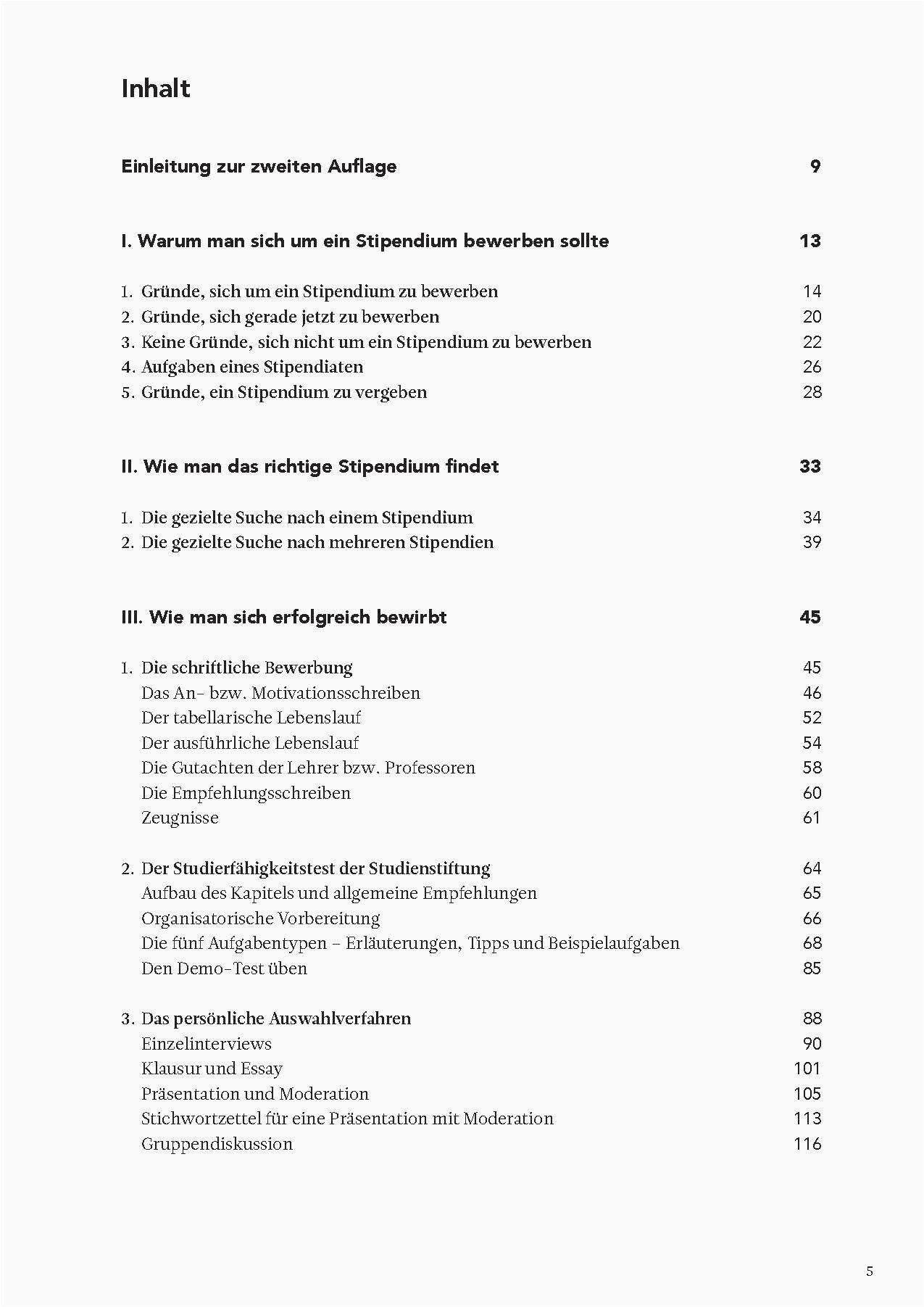 Studienstiftung Des Deutschen Volkes Lebenslauf Tipps Di 2020