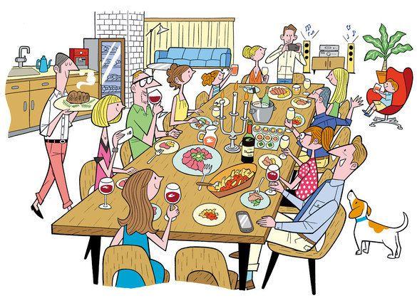 ソリマチアキラ House Party 漫画アート アキラ イラストレーター