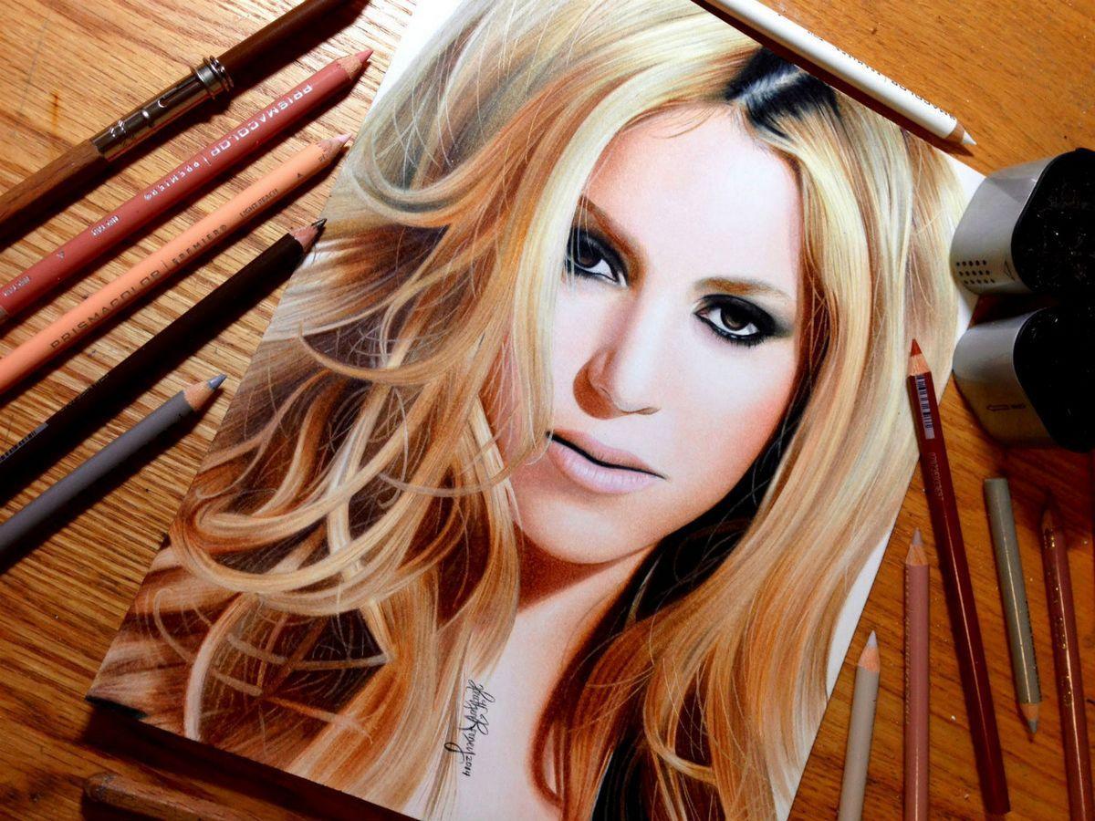 Photorealistic Celebrities Portrait Drawings Using ...